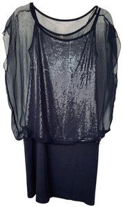 Bailey 44 Sequin Party Drop Waist Stretchy Dress