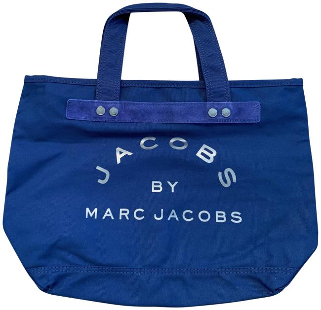 Item - Large Navy Blue Canvas Tote
