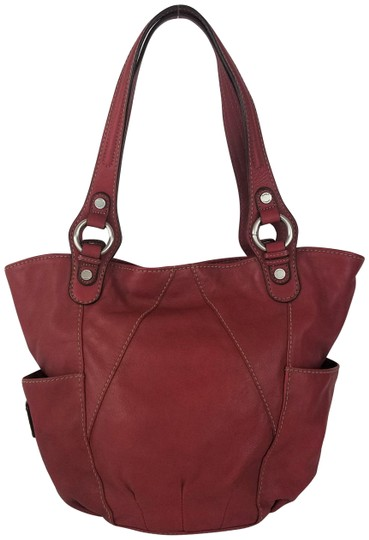 Preload https://img-static.tradesy.com/item/27396986/tignanello-shoulder-bag-touchables-glam-red-leather-tote-0-2-540-540.jpg