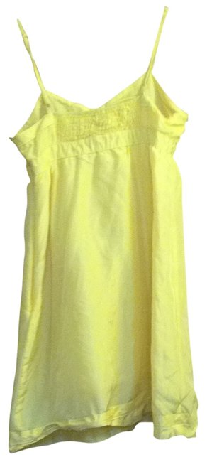Preload https://img-static.tradesy.com/item/273972/heritage-1981-yellow-short-casual-dress-size-4-s-0-0-650-650.jpg