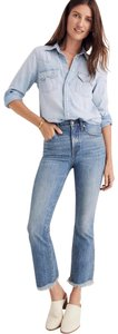 Madewell Capri/Cropped Denim-Medium Wash