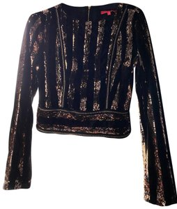 Joanna Top black and gold
