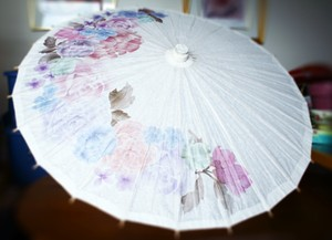 Watercolor Paper Parasol Other