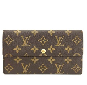 Louis Vuitton Louis Vuitton Monogram Portefeiulle Sarah Wallet