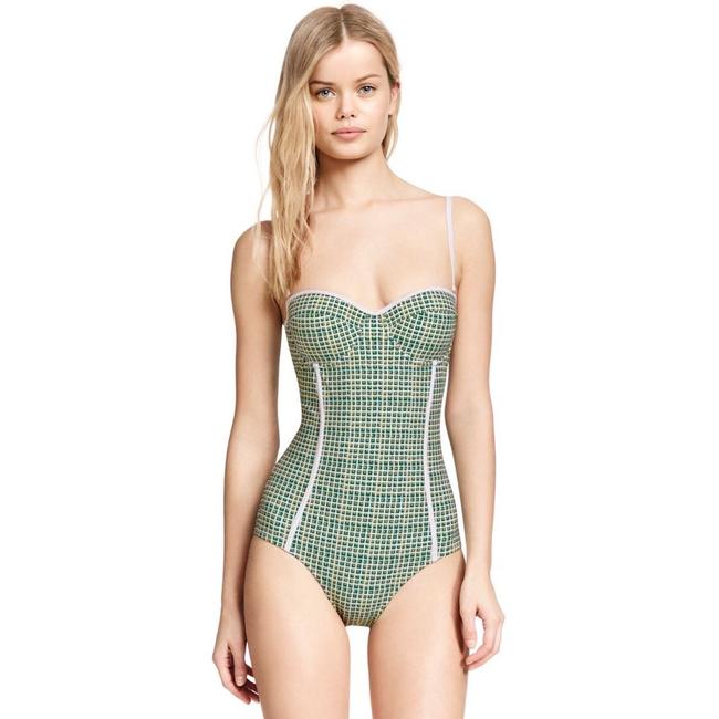 Item - Green Baleares Underwire Swimsuit One-piece Bathing Suit Size 2 (XS)