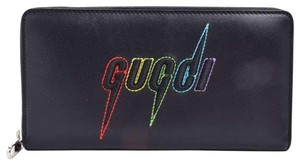 Gucci Gucci Blade Embroidery Long Wallet
