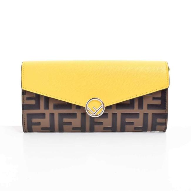Item - Yellow Long F's Zucca Wallet