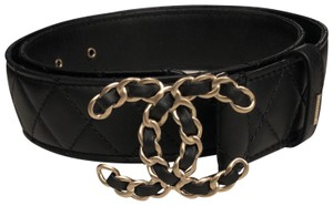 Chanel Chanel quilted lambskin belt