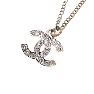 Chanel Chanel Necklace Coco Mark Metal Material Silver Color C11V 2011 Classic Collection