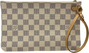 Louis Vuitton Wristlet in Gold, Gray