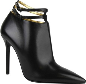 Bottega Veneta Women Leather Ankle Black Boots