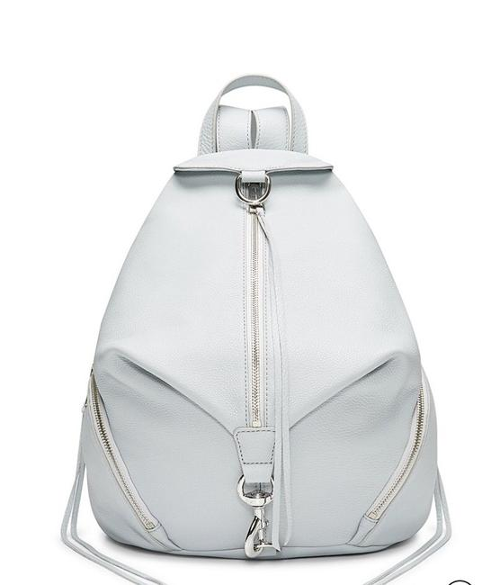 Item - Julian Ice Grey Leather Backpack