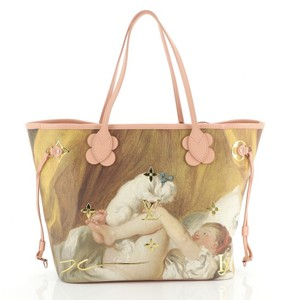 Louis Vuitton Canvas Tote in print