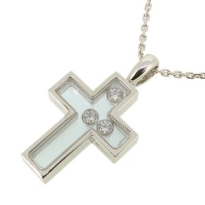 Chopard Chopard Happy Diamonds Cross Ladies Necklace 750 White Gold DH56911