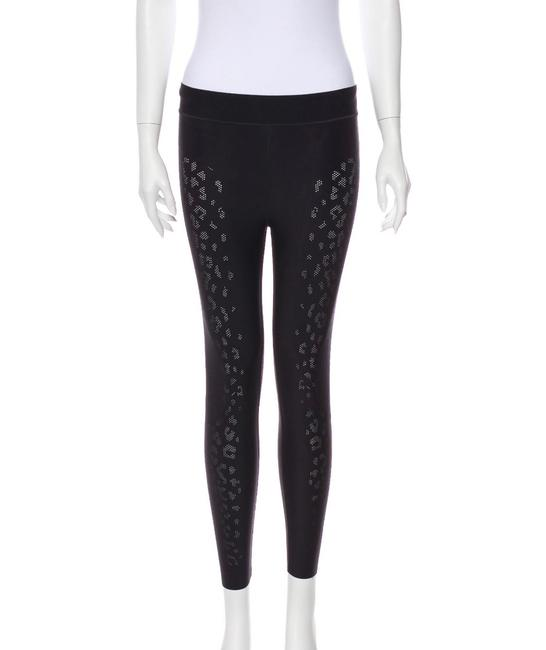 Item - Black Perforated Activewear Bottoms Size 2 (XS)