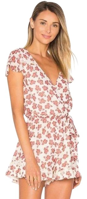 Item - Ivory / Red Ashby Romper/Jumpsuit