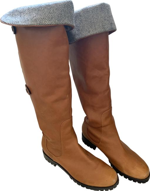 Item - Brown Vintage Air Tall Leather Rider Waterproof (9) Boots/Booties Size US 9 Regular (M, B)