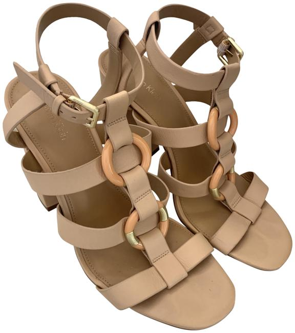 Item - Nude Pre-owned Lindy Leather (9) Sandals Size US 9 Regular (M, B)