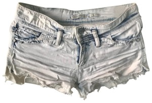 Stradivarius Denim Shorts-Distressed