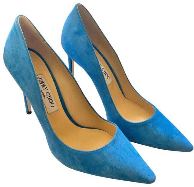 Item - Robot Blue Romy 100mm Heels Pumps Size EU 40 (Approx. US 10) Regular (M, B)
