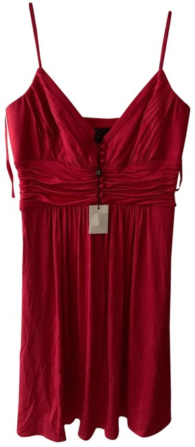 Item - Red Mid-length Night Out Dress Size 2 (XS)