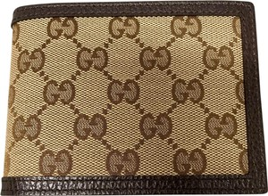 Gucci GUCCI 333042 Men's Nylon/leather GG Guccissima Bifold Wallet removable ID wallet