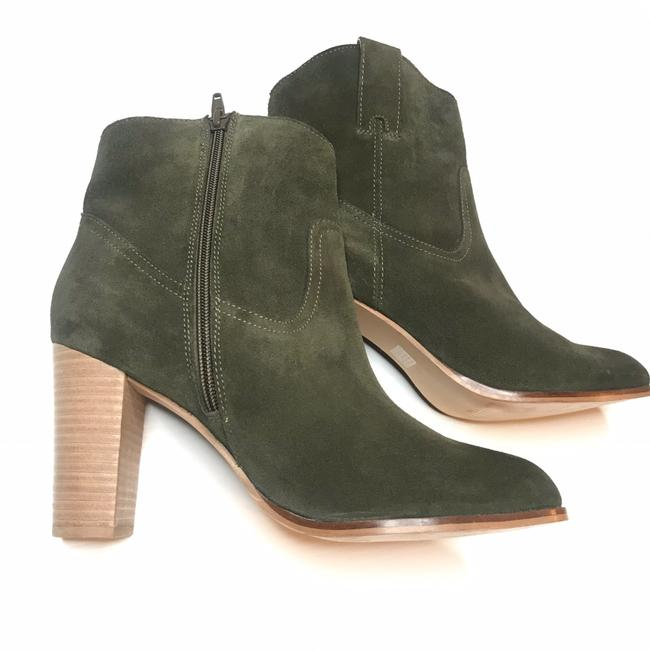 Item - Green New Seychelles Leather Suede Boho Ankle Boots/Booties Size US 9 Regular (M, B)