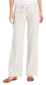 prAna Wide Leg Pants White
