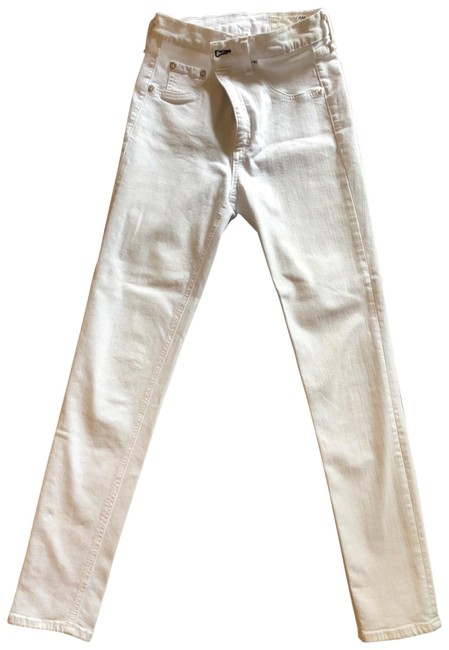 Item - White Nina High-rise Ankle Skinny Jeans Size 4 (S, 27)