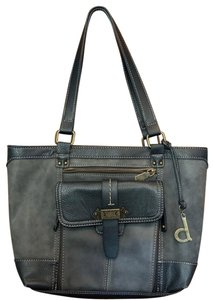 B.O.C. Satchel in Grey Black