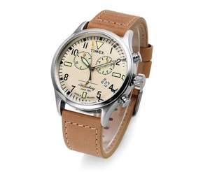Timex Waterbury Watch TW2P84200 - Leather Gents Quartz Chronograph