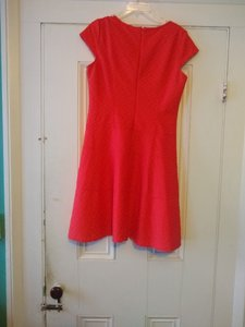 Sharagano short dress Coral/ red /orange on Tradesy