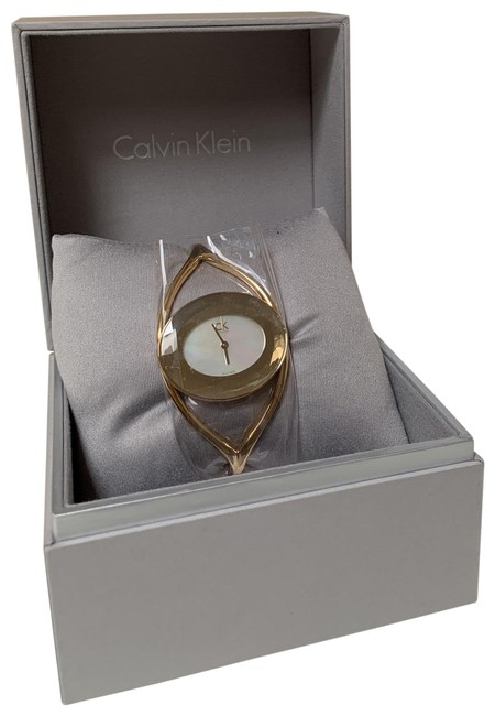 Item - Gold with Mineral Crystal Delight Women's Watch