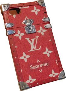Louis Vuitton Louis Vuitton x Supreme Iphone 7 Trunk Case