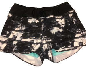 MPG Black, white, and mint green Shorts