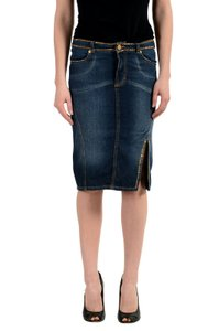 Versace Jeans Collection Skirt Blue