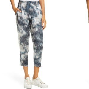 ATM Anthony Thomas Melillo Capri/Cropped Pants Tie Dye Blue