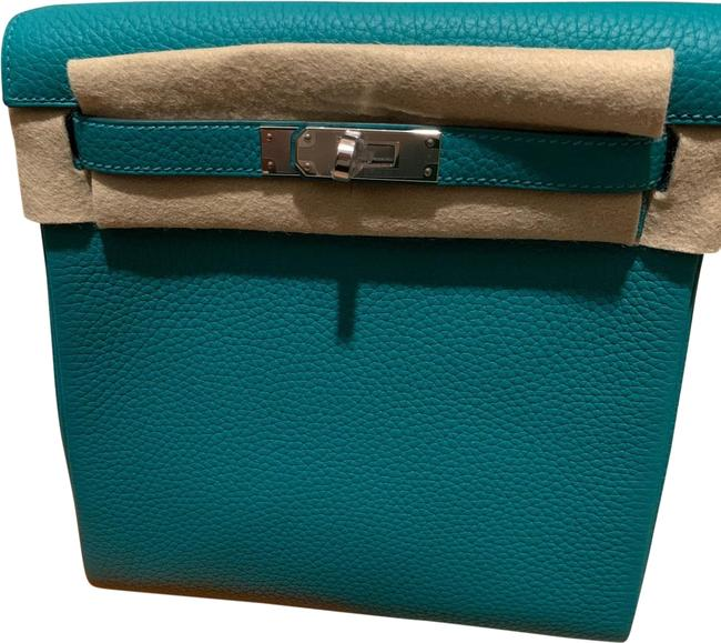 Item - Kelly Ado Green Clemence Leather Backpack