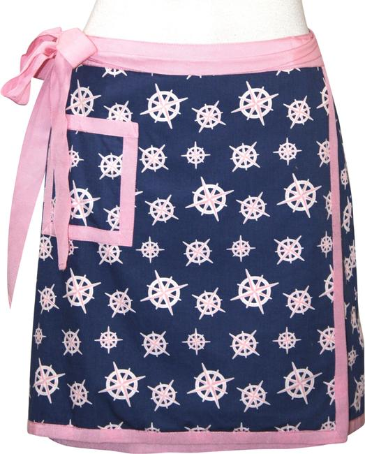 Item - Blue & Pink Wrap New with Tags Skirt Size 2 (XS, 26)