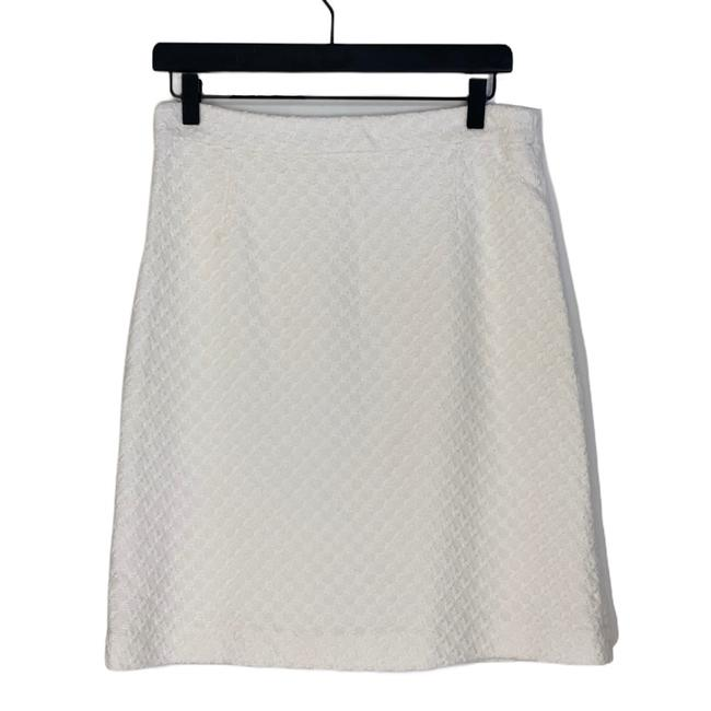 Item - White A-lined Skirt Size 4 (S, 27)