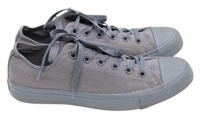 Item - Gray Lace-up Sneakers Size US 10 Regular (M, B)