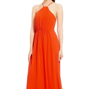orange Maxi Dress by Daniel Cremieux