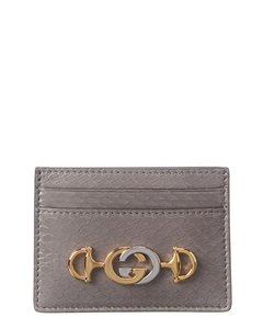 Gucci Gucci Zumi Leather Card Holder