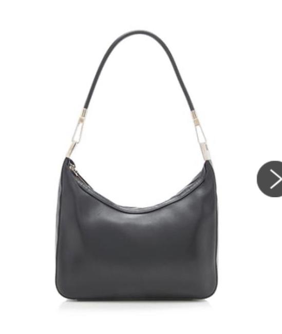 Item - Binoche Black Leather Shoulder Bag