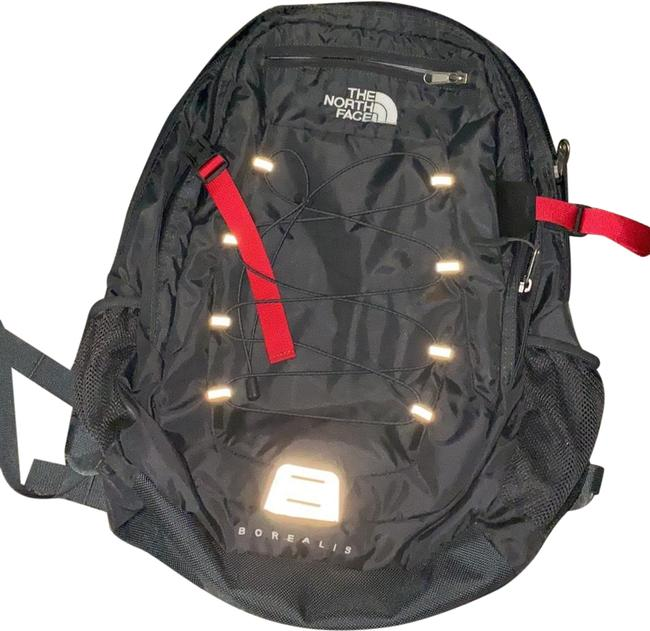 Item - 'borealis' Grey with Red Backpack