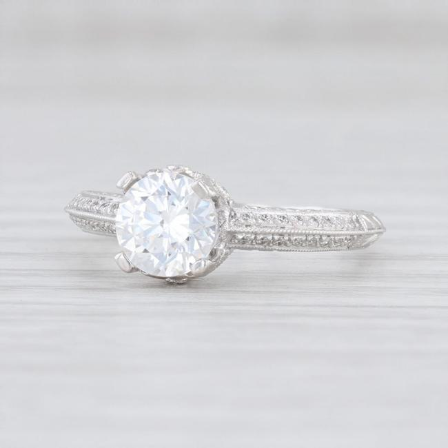 Item - 18k White Gold New Semi Mount Diamond 6.5 Engagement Ring