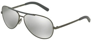 Dolce&Gabbana New Aviator Mirrored Lens DG 2141 1221/6G Free 3 Day Shipping