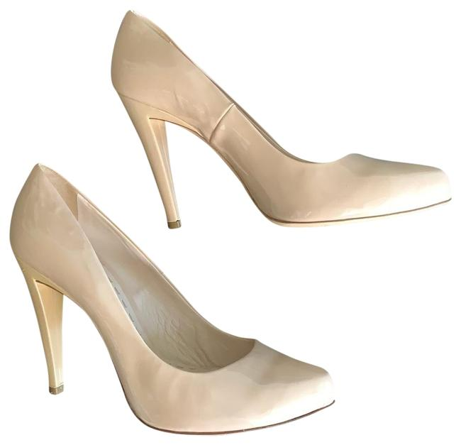Item - Nude Patent Leather Pumps Size EU 42 (Approx. US 12) Regular (M, B)