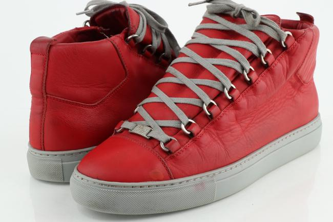 Item - Red High Sneakers Shoes