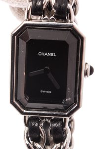 Chanel Authentic CHANEL Vintage Premiere Wristwatch Gold Quartz Swiss Made #M